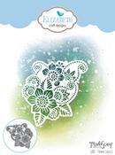 Flower Lace 1 - Elizabeth Craft ModaScrap Metal Die