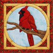 "12""X12"" - Cardinal Quilt Magic Kit"