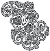 Flower Lace 2 - Elizabeth Craft ModaScrap Metal Die