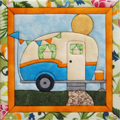 "12""X12"" - Vintage Camper Quilt Magic Kit"