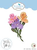 Garden Notes-Alstroemeria - Elizabeth Craft Metal Die By Susan's Garden Club