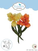 Garden Notes-Day Lily - Elizabeth Craft Metal Die By Susan's Garden Club