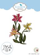 Garden Notes-Lily 2 - Elizabeth Craft Metal Die By Susan's Garden Club