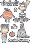 Halloween - Elizabeth Craft Metal Die