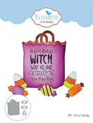 Trick Or Treat Bag - Elizabeth Craft Metal Die