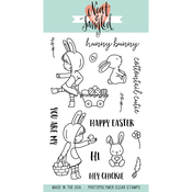 """Cottontail Cuties - Neat & Tangled Clear Stamps 4""""X6"""""""