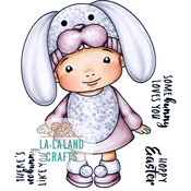 "Some Bunny Baby Marci - La-La Land Cling Stamps 4.5""X3.5"""