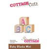 """Baby Blocks Mini 1.2""""X.9"""" - Cottagecutz Die"""
