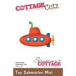 """Toy Submarine Mini 1.6""""X1.2"""" - Cottagecutz Die"""