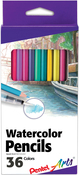 Assorted Colors - Pental Arts Watercolor Pencils 36/Pkg
