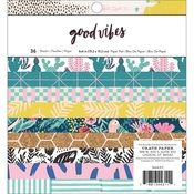 Good Vibes 6 x 6 Paper Pad - Crate Paper - PRE ORDER
