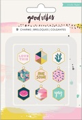 Good Vibes Charms - Crate Paper - PRE ORDER