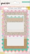 Good Vibes Pom Pom Frames - Crate Paper