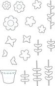 Flower Garden - Your Next Stamp Die