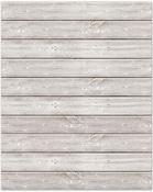 "16""X20"" White - Jillibean Soup Mix The Media Wooden Plank"