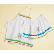 "Rooster - Stamped Pillowcase Apron Kit 30""X20"""