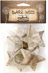 Stars - Bark Shapes 4/Pkg