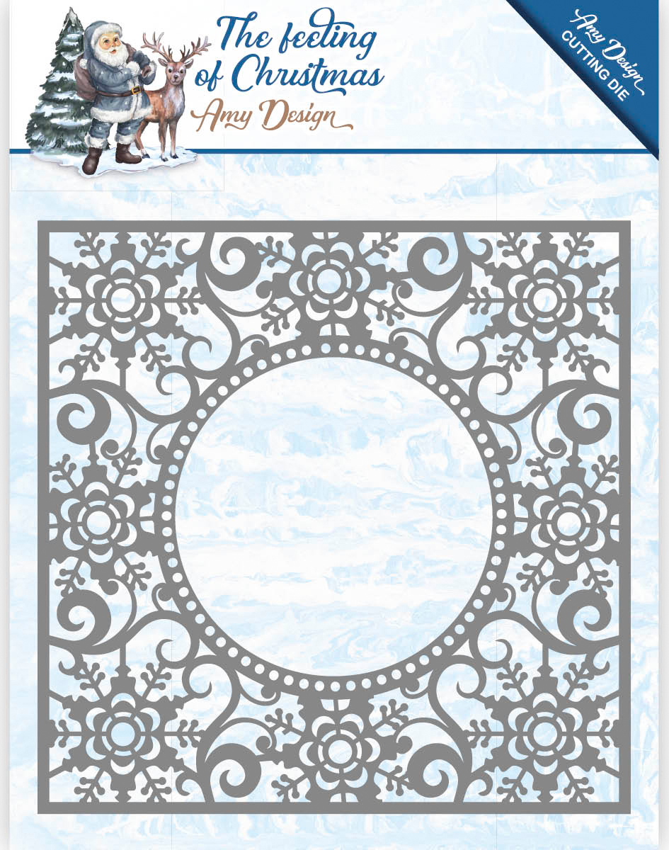 Ice Crystal Frame - Find It Trading Amy Design The Feeling Of Christmas Die