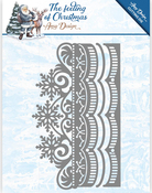 Ice Crystal Border - Find It Trading Amy Design The Feeling Of Christmas Die