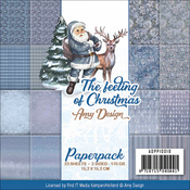 "The Feeling Of Christmas - Find It Trading Amy Design Paper Pack 6""X6"" 23/Pkg"