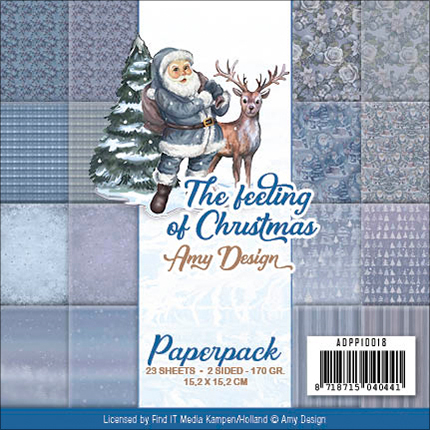 The Feeling Of Christmas - Find It Trading Amy Design Paper Pack 6