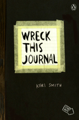 "Black - Wreck This Journal Expanded Edition 5.5""X8.25"""