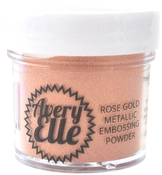 Rose Gold - Avery Elle Metallic Fine Embossing Powder 1oz
