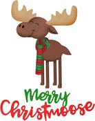 """Merry Christmoose .63"""" To 3.09"""" - Cheery Lynn Designs Die"""