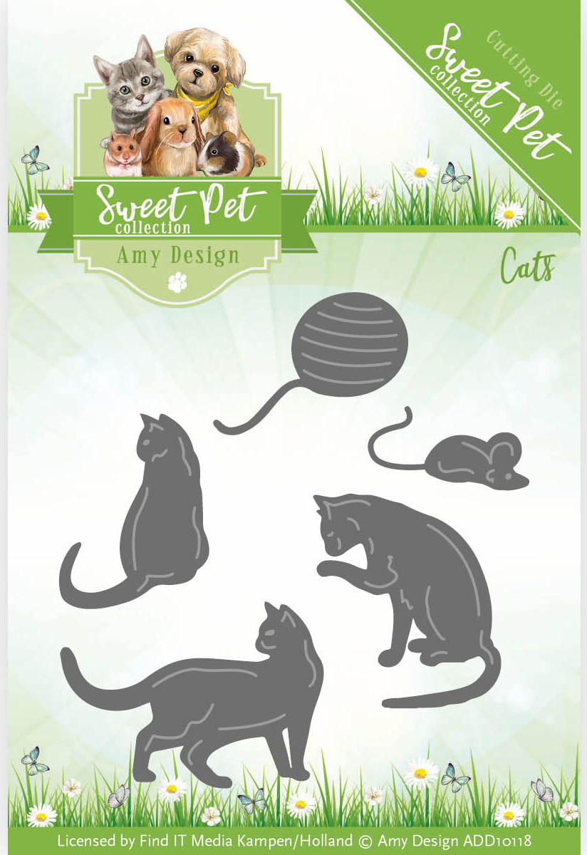 Cats - Find It Trading Amy Design Sweet Pet Die