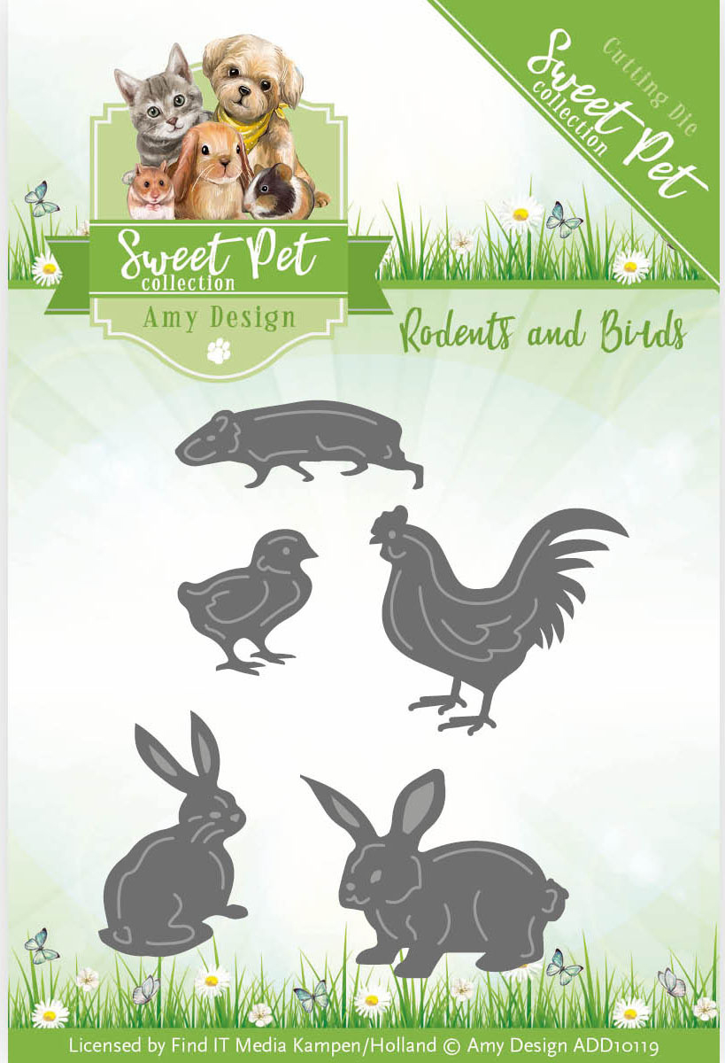 Birds, Hamsters & Guinea Pigs - Find It Trading Amy Design Sweet Pet Die