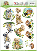 Dogs - Find It Amy Design Sweet Pet Punchout Sheet