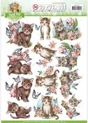 Cats - Find It Amy Design Sweet Pet Punchout Sheet