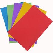 """Ultra Fine Glitter Sticky Paper 6""""X9"""" 5/Pkg"""