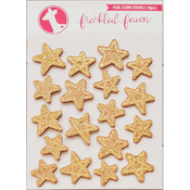 Gold Foil Stars - Freckled Fawn Cork Stickers