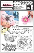 All The Good Things Watercolor Sticker Sheet - Vicki Boutin