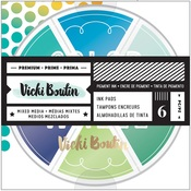 Cool Tones Color Wheel Ink Pads - Vicki Boutin