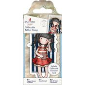 No. 42 Summer Days - Gorjuss Santoro Rubber Stamp