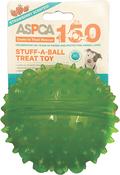 Green - ASPCA Stuff-A-Ball Treat Dog Toy