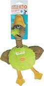 Green - ASPCA Flat Quacks Dog Toy