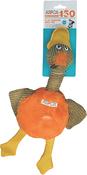 Orange - ASPCA Flat Quacks Dog Toy