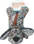 Orange - ASPCA Crinkle & Chew Rope Pup Dog Toy