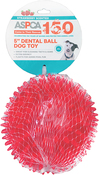 "Pink - ASPCA 5"" Dental Ball Dog Toy"