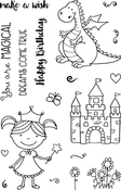 "Magical - Jane's Doodles Clear Stamps 4""X6"""