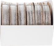 Silver - Galena Metallic Ribbon Assortment 24/Pkg