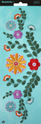 Florals - Wrights Iron-On Applique