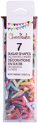 7 - ChocoMaker(R) Shimmer Sugar Number Decorettes .75oz