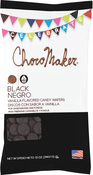 Black - ChocoMaker(R) Vanilla Flavored Candy Wafers 12oz
