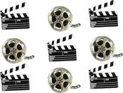 Movie - Eyelet Outlet Shape Brads 12/Pkg