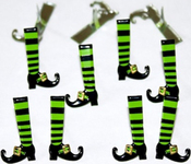Witch Leg - Eyelet Outlet Shape Brads 12/Pkg
