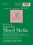 "Strathmore Toned Mixed Media Paper - Toned Tan 6""X8"""
